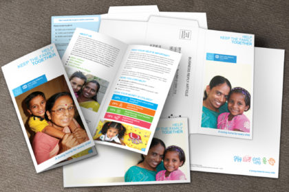 SOS Direct Mailer For Fund Raising