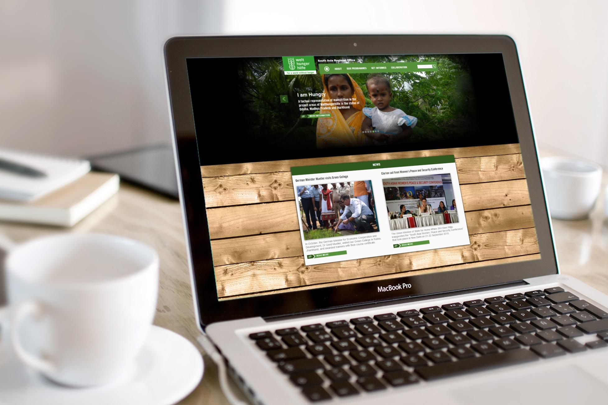 Welthungerhilfe Southasia Website