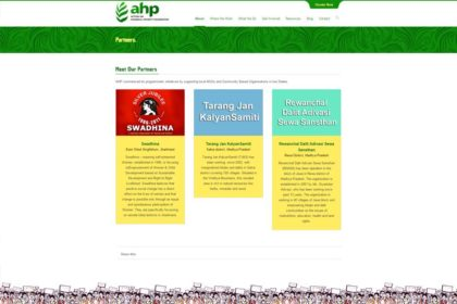 AHP – Action on Hunger and Poverty Foundation Website
