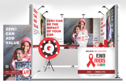 END AIDS Campaign Stall